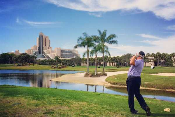 Hawk's Landing Golf Club at the Marriott Orlando World Center