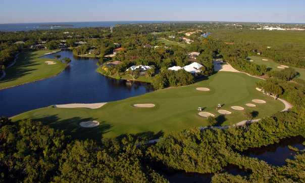 aerial view from hammock at ocean reef club     hammock course at ocean reef club in key largo  rh   floridagolf