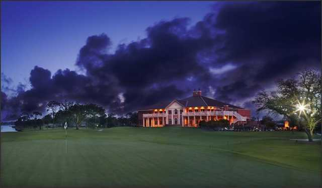 Pensacola Country Club at night