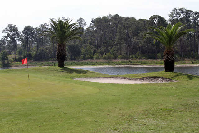 A View Of Hole Protected By Bunker At Glen Abbey Golf Club Sportsvolusia