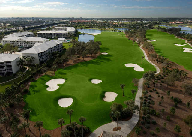 Lakes course at bear lakes country club in west palm beach - Palm beach gardens recreation center ...