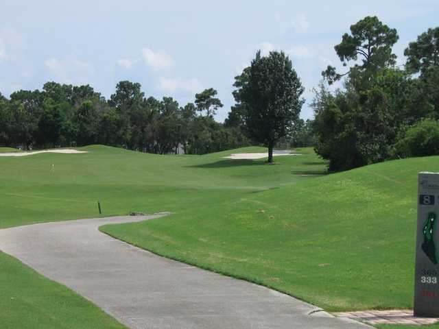 A View From The 8th Tee Sign At Debary Golf And Country Club