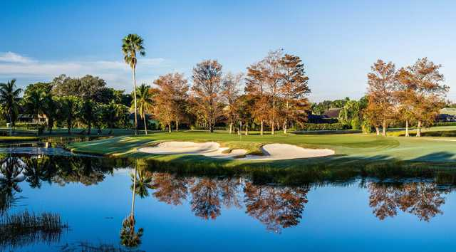Haig course at pga national resort spa in palm beach gardens for Palm beach gardens golf course
