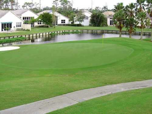 South Course At The Fountains Country Club In Lake Worth