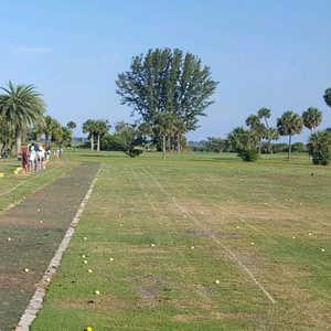 Manatee Cove GC: Practice area