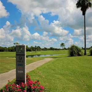 Sebring International Golf Resort - Cougar Trail: #9