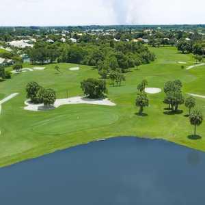 Seminole Lakes CC: Aerial
