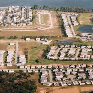 Polo Park East GC: aerial view