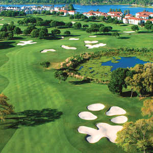 Metrowest CC: Aerial view