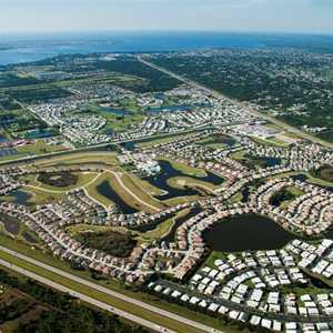 Kings Gate GC: Aerial view