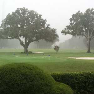 Water Oak CC: Practice area