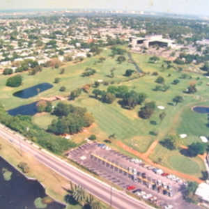 Pinecrest GC: Aerial view