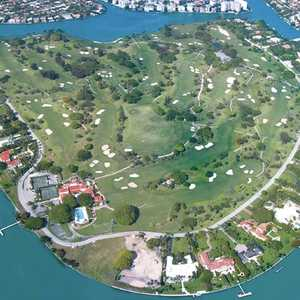 Indian Creek CC: Aerial view