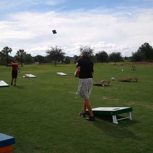 Plantation Palms GC: practice area