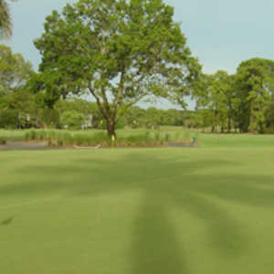 Royal Palm CC: practice green