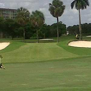 Palm-Aire CC - Palms: Practice area