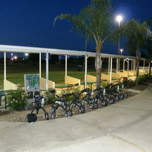 Terrace Hill GC: driving range