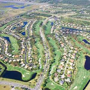 Binks Forest GC: Aerial view