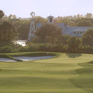 Celebration GC: 18th green