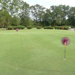 Bent Creek GC: practice putting green