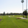 A view from the 18th tee at Miami Springs Golf & Country Club.