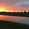 Sunset view from Sebring International Golf Resort
