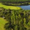 Aerial view from Origins Golf Club