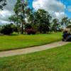 A view of a tee at Harder Hall Country Club.