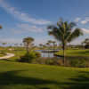 A sunny day view from Palm Beach Golf Course.