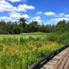 A view of a green at Heritage Harbor.
