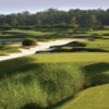 A view from a tee at The Conservatory Course from Hammock Beach Resort.