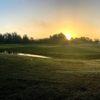 A morning day view of a green at Sebring International Golf Resort.