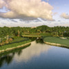 View of the 18th hole from the South Course at BallenIsles Country Club