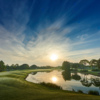 A sunset view of a tee from The Club at Ibis.
