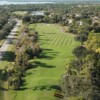 Aerial view from Riverwood Golf Club.