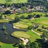 Aerial view from IMG Academy Golf Club