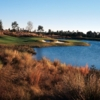 A view of the 14th hole at Camp Creek Golf Club