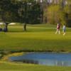 A view of the 9th green at Santa Rosa Golf & Beach Club