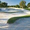 A view of sand traps at Bradenton Country Club