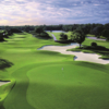 A view of the 13th green at Ritz - Carlton Members Golf Club