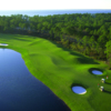 Aerial view of fairway #5 at Burnt Pine at Sandestin Resort