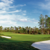 A view from the 1st fairway at Dye Preserve Golf Club