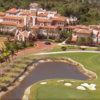 Aerial view from Tesoro Club