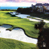 A view of fairway #18 at Sailfish Point Golf Club