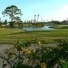 A view of a tee at American Golf Club Vero Beach
