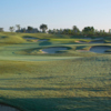A view of fairway #15 at Quail Valley Golf Club