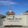 A view from Harbour Village Golf & Yacht Club