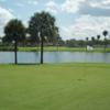 A view of a green at Seven Bridges from Springtree Golf Club