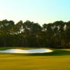 A view of a green at Holiday Golf Club