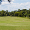 A view of a green at Lakeside Links Golf Club